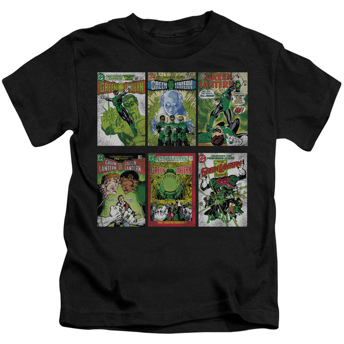 Green Lantern - Gl Covers Short Sleeve Juvenile 18/1 Tee - Special Holiday Gift