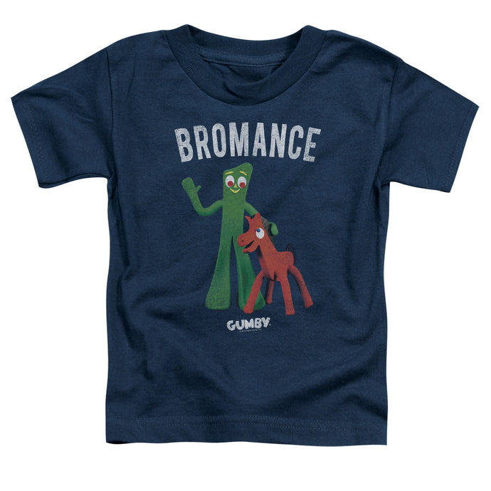 Gumby - Bromance Short Sleeve Toddler Tee - Special Holiday Gift