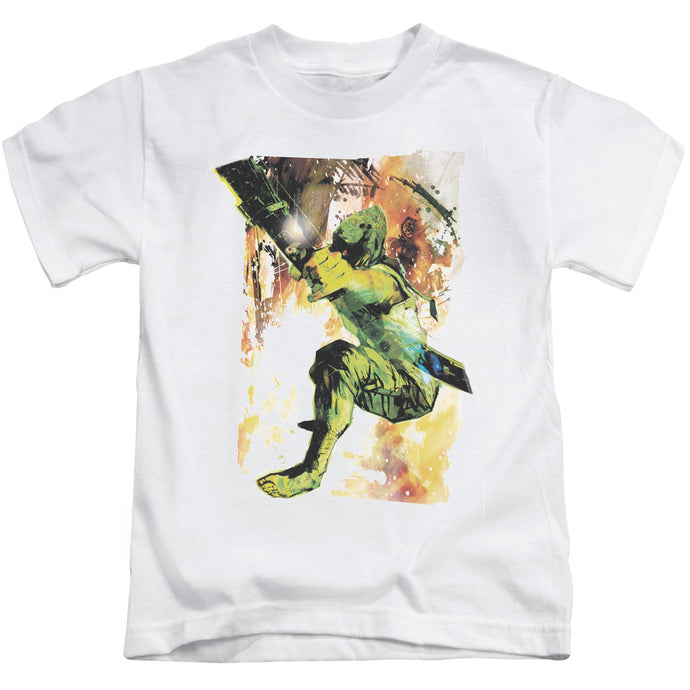 Jla - Painted Archer Short Sleeve Juvenile 18/1 Tee - Special Holiday Gift