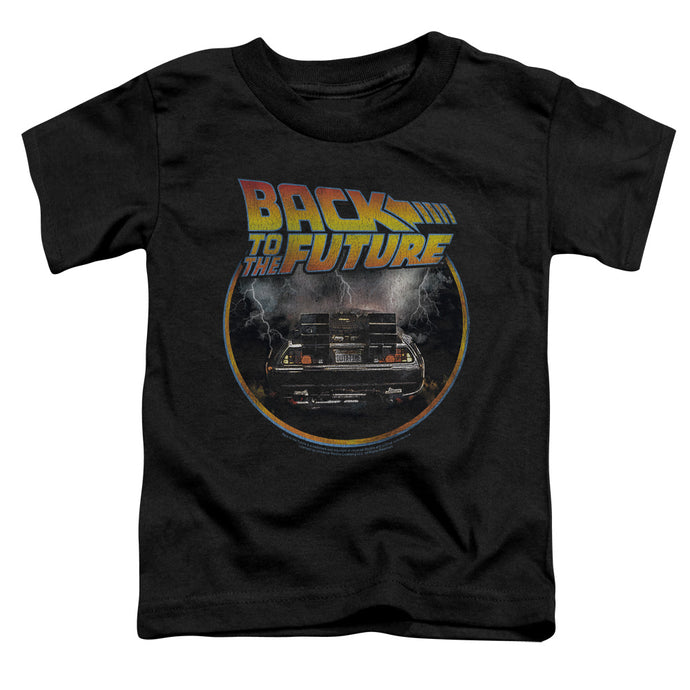 Back To The Future - Back Short Sleeve Toddler Tee - Special Holiday Gift