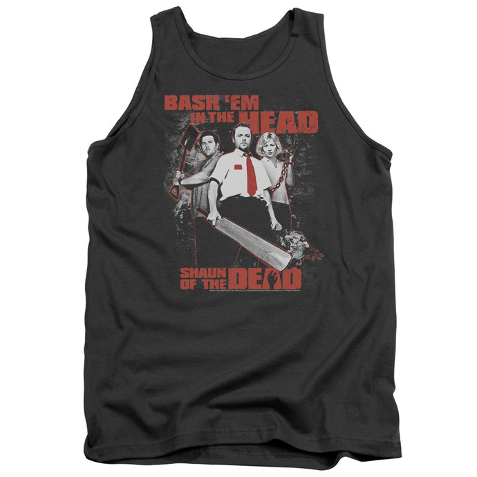 Shaun Of The Dead - Bash Em Adult Tank - Special Holiday Gift