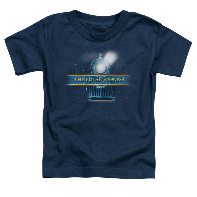 Polar Express - Train Logo Short Sleeve Toddler Tee - Special Holiday Gift