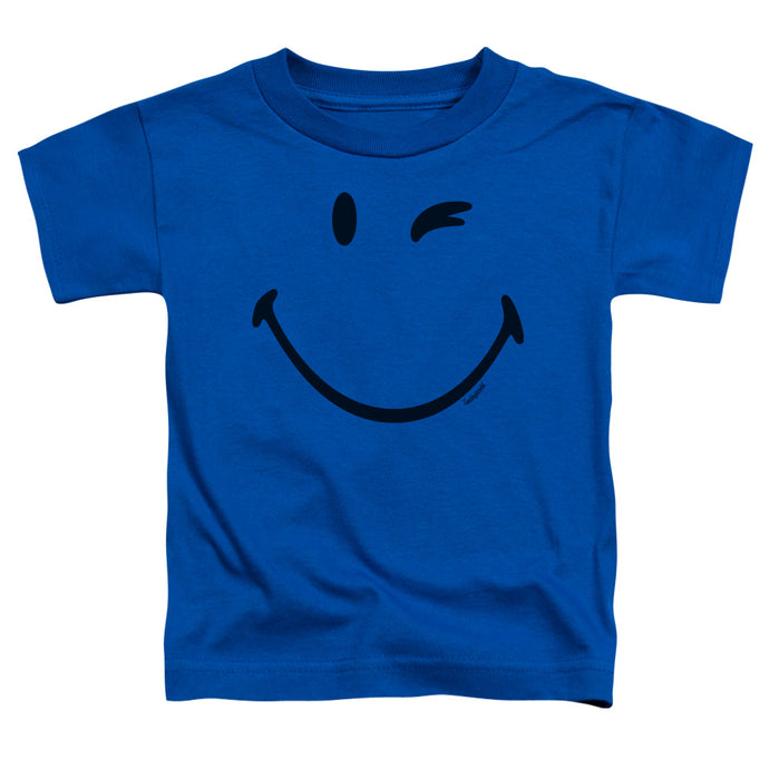 Smiley World - Big Wink Short Sleeve Toddler Tee - Special Holiday Gift