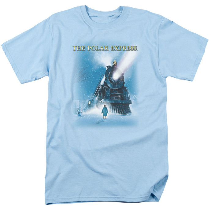 Polar Express - Big Train Short Sleeve Adult 18/1 Tee - Special Holiday Gift