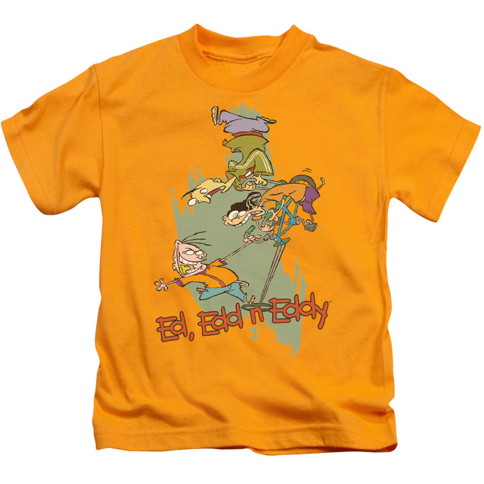 Ed Edd N Eddy - Free Fall Short Sleeve Juvenile 18/1 Tee - Special Holiday Gift