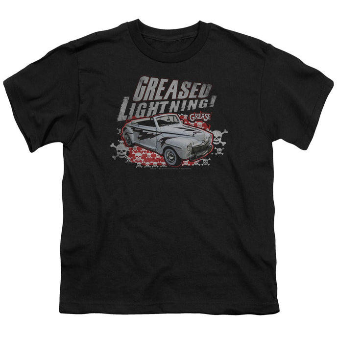 Grease - Greased Lightening Short Sleeve Youth 18/1 Tee - Special Holiday Gift