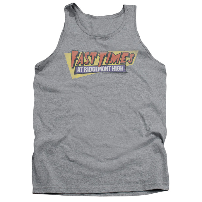 Fast Times Ridgemont High - Distressed Logo Adult Tank - Special Holiday Gift