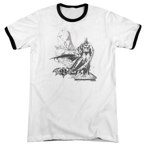 Batman - Overseer Adult Ringer - Special Holiday Gift