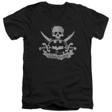 Batman - Dark Pirate Short Sleeve Adult V Neck Tee - Special Holiday Gift