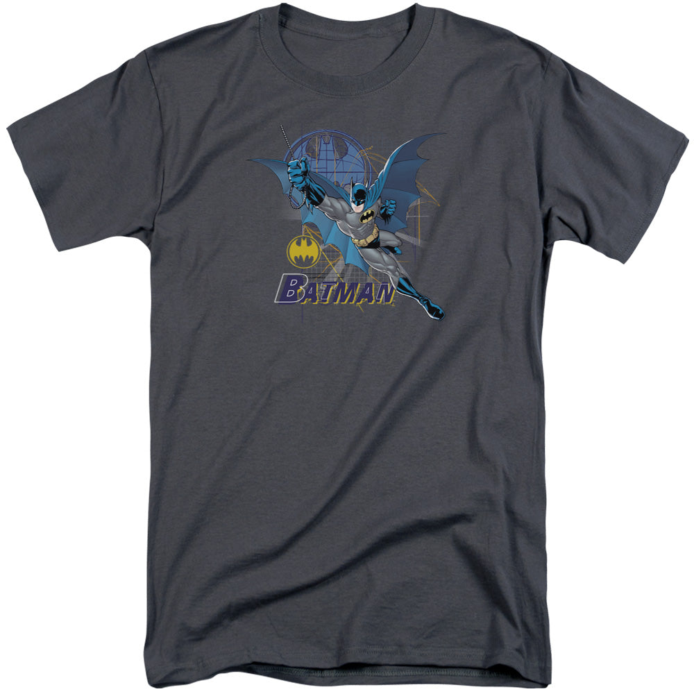 Batman - Cape Outstretched Short Sleeve Adult Tall Tee - Special Holiday Gift