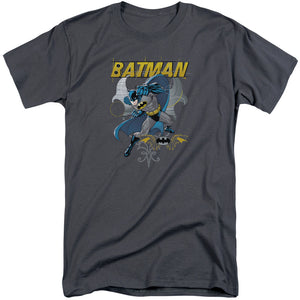 Batman - Urban Gothic Short Sleeve Adult Tall Tee - Special Holiday Gift