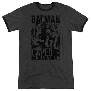 Batman - Caped Crusader Adult Heather - Special Holiday Gift