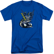 Batman - By Air & By Land Short Sleeve Adult Tall Tee - Special Holiday Gift
