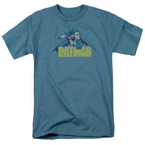 Batman - Retro Distressed Short Sleeve Adult 18/1 Tee - Special Holiday Gift