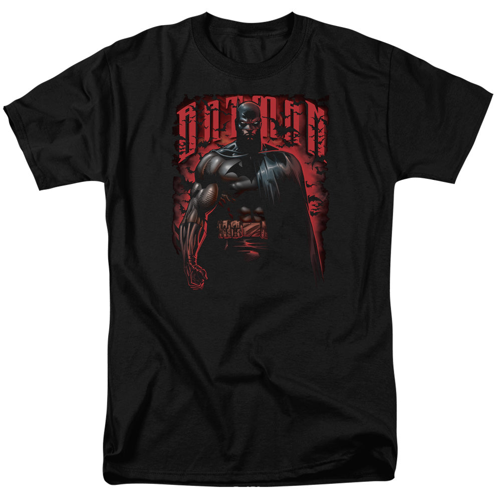 Batman - Red Knight Short Sleeve Adult 18/1 Tee - Special Holiday Gift