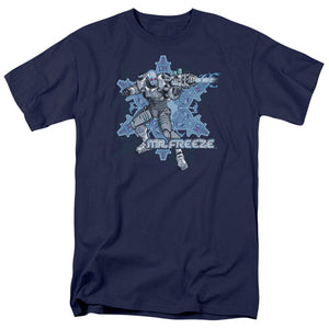 Batman - Mr Freeze Short Sleeve Adult 18/1 Tee - Special Holiday Gift