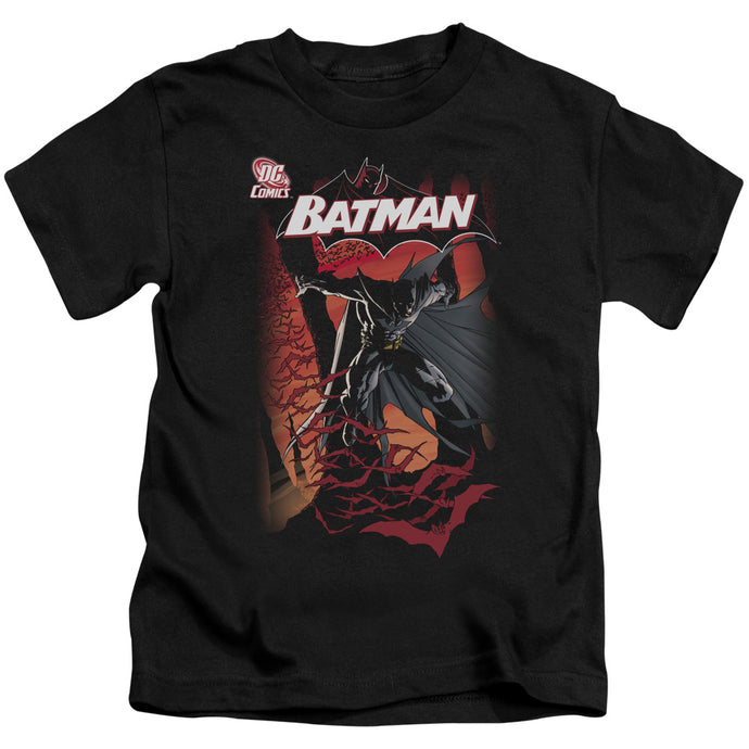 Batman - #655 Cover Short Sleeve Juvenile 18/1 Tee - Special Holiday Gift