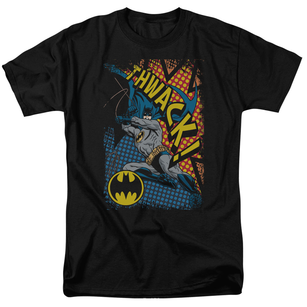 Batman - Thwack Short Sleeve Adult 18/1 Tee - Special Holiday Gift