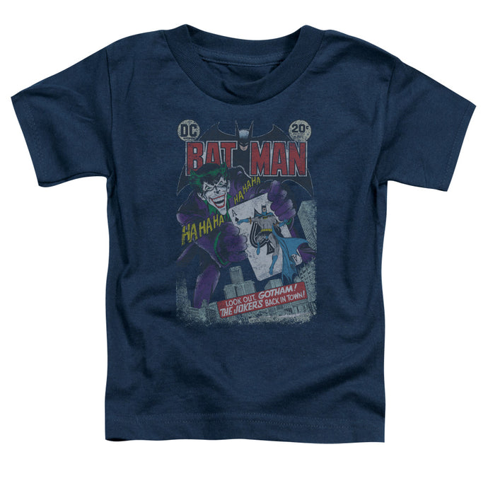 Batman - #251 Distressed Short Sleeve Toddler Tee - Special Holiday Gift