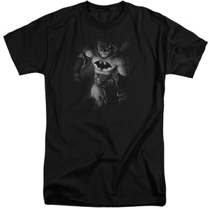 Batman - Materialized Short Sleeve Adult Tall Tee - Special Holiday Gift