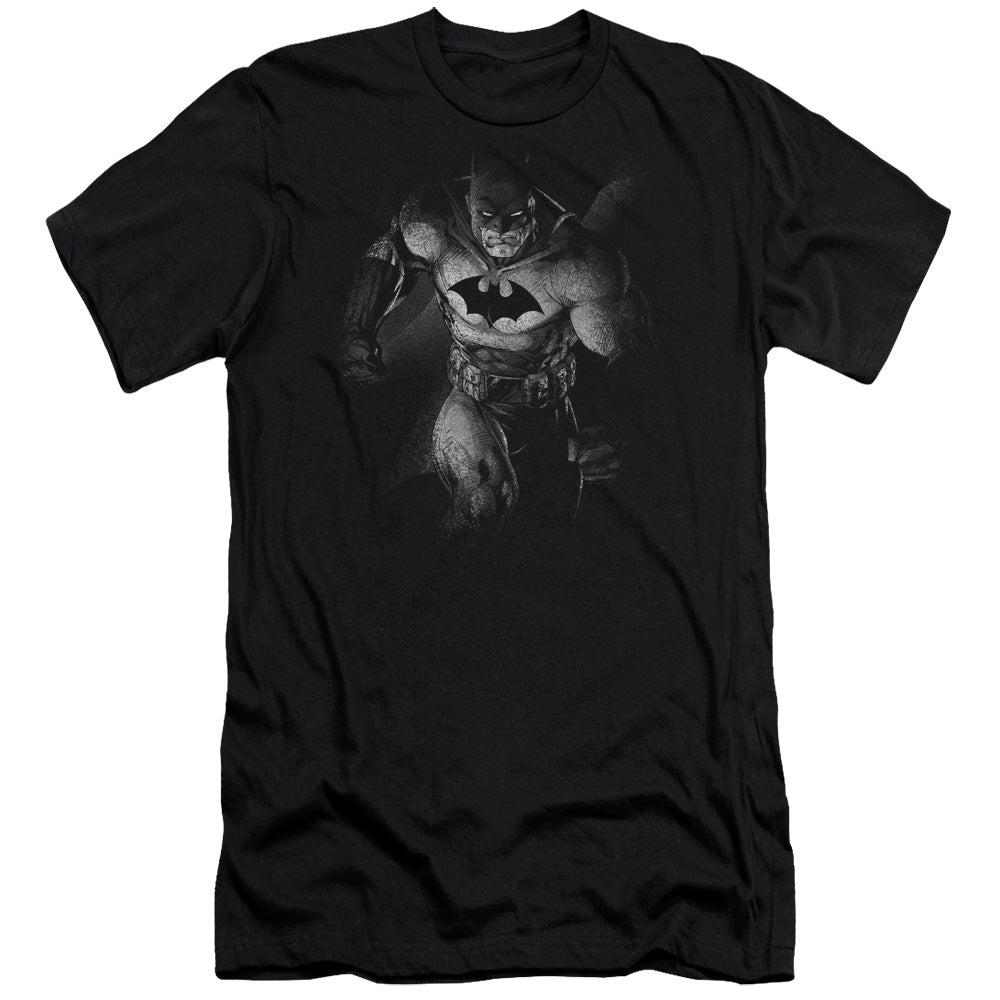 Batman - Materialized Short Sleeve Adult 30/1 Tee - Special Holiday Gift
