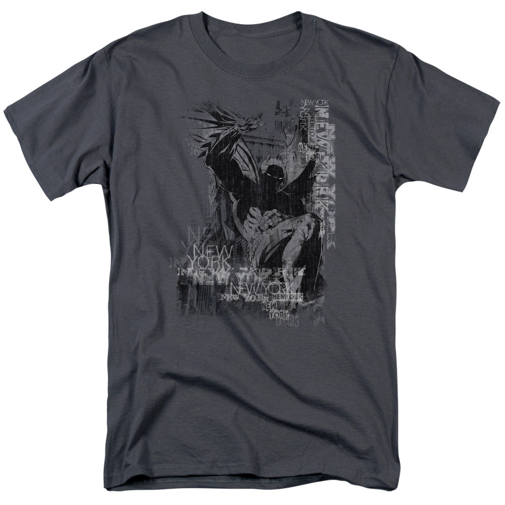 Batman - The Knight Life Short Sleeve Adult 18/1 Tee - Special Holiday Gift