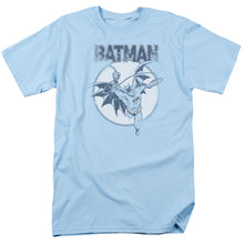 Batman - Swinging Bat Short Sleeve Adult 18/1 Tee - Special Holiday Gift