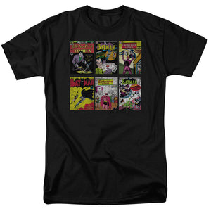 Batman - Bm Covers Short Sleeve Adult 18/1 Tee - Special Holiday Gift