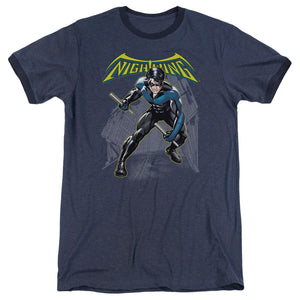 Batman - Nightwing Adult Heather - Special Holiday Gift