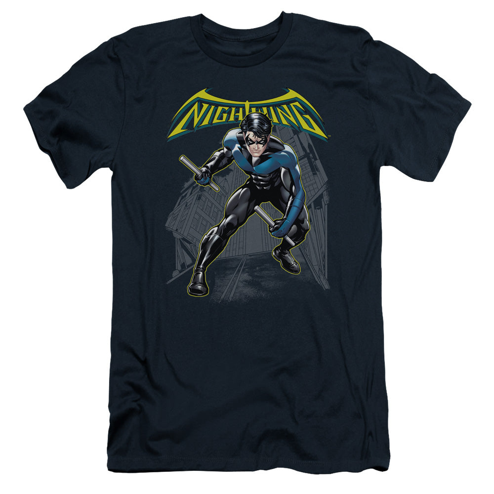 Batman - Nightwing Short Sleeve Adult 30/1 Tee - Special Holiday Gift