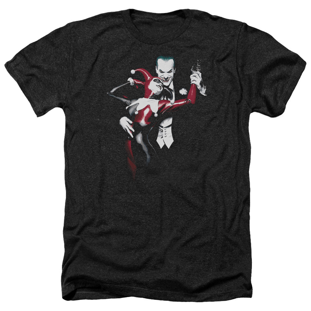 Batman - Harley And Joker Adult Heather - Special Holiday Gift
