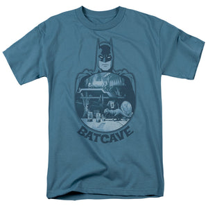 Batman - Batcave Short Sleeve Adult 18/1 Tee - Special Holiday Gift