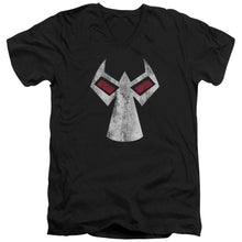Batman - Bane Mask Short Sleeve Adult V Neck Tee - Special Holiday Gift