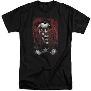 Batman - Blood In Hands Short Sleeve Adult Tall Tee - Special Holiday Gift
