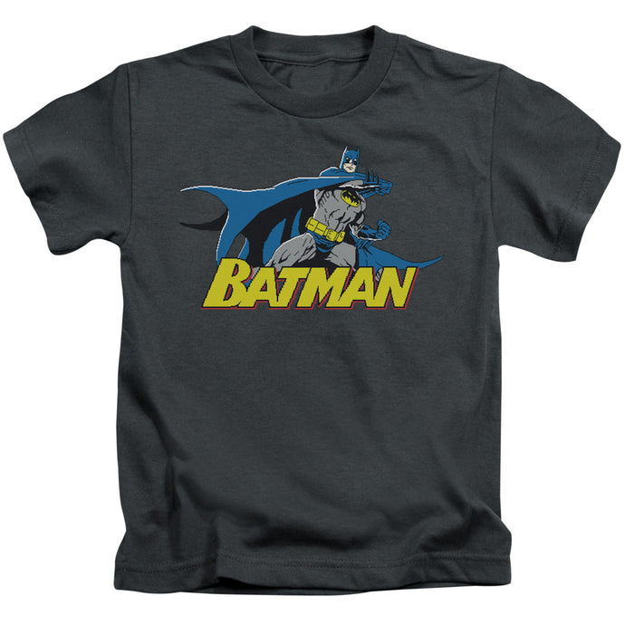Batman - 8 Bit Cape Short Sleeve Juvenile 18/1 Tee - Special Holiday Gift