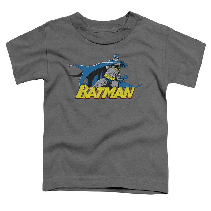 Batman - 8 Bit Cape Short Sleeve Toddler Tee - Special Holiday Gift