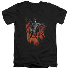 Batman - Majestic Short Sleeve Adult V Neck Tee - Special Holiday Gift