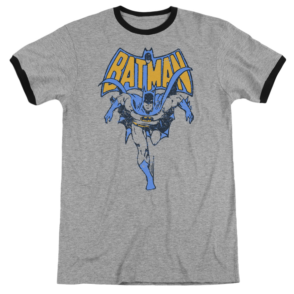 Batman - Vintage Run Adult Ringer - Special Holiday Gift