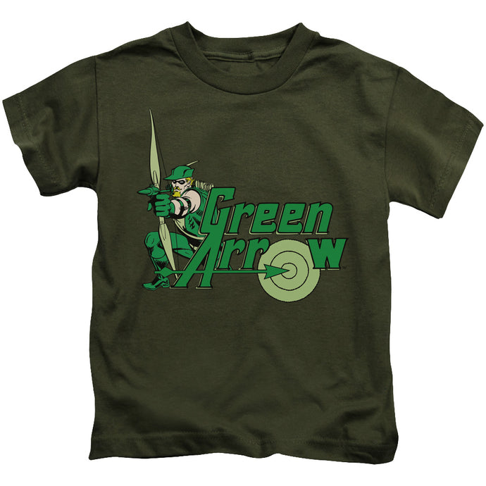 Dc - Green Arrow Short Sleeve Juvenile 18/1 Tee - Special Holiday Gift