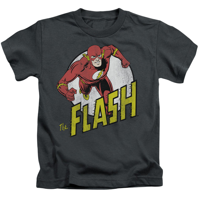 Dc - Run Flash Run Short Sleeve Juvenile 18/1 Tee - Special Holiday Gift