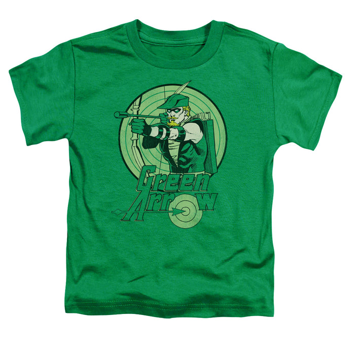 Dc - Green Arrow Short Sleeve Toddler Tee - Special Holiday Gift