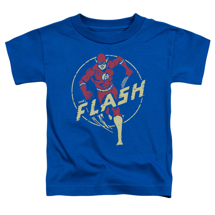 Dc - Flash Comics Short Sleeve Toddler Tee - Special Holiday Gift