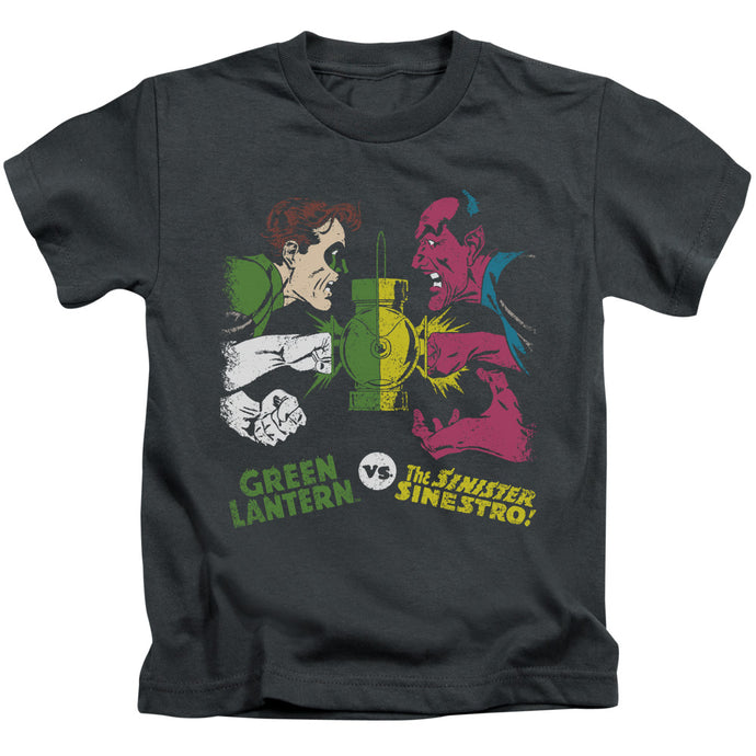 Dc - Green Lantern Vs Sinestro Short Sleeve Juvenile 18/1 Tee - Special Holiday Gift