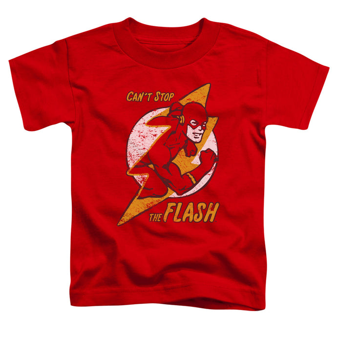 Dc - Flash Bolt Short Sleeve Toddler Tee - Special Holiday Gift