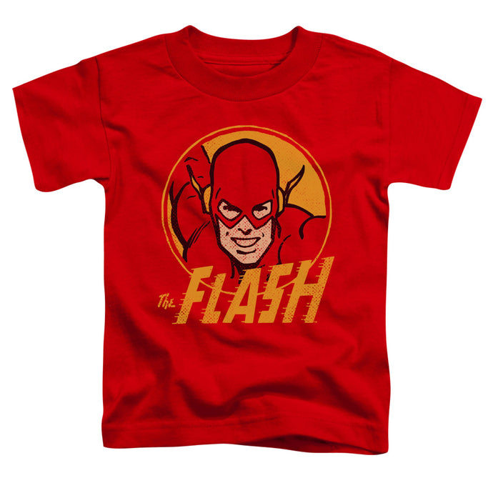 Dc - Flash Circle Short Sleeve Toddler Tee - Special Holiday Gift