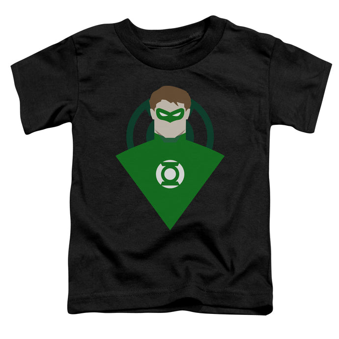 Dc - Simple Green Lantern Short Sleeve Toddler Tee - Special Holiday Gift