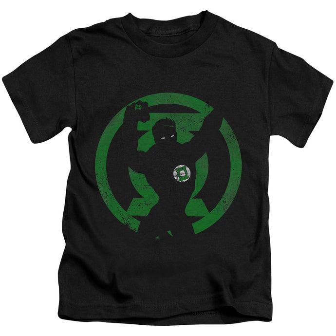 Dc - Green Lantern Symbol Knockout Short Sleeve Juvenile 18/1 Tee - Special Holiday Gift