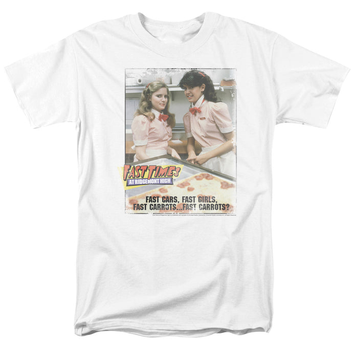 Fast Times Ridgemont High - Fast Carrots Short Sleeve Adult 18/1 Tee - Special Holiday Gift