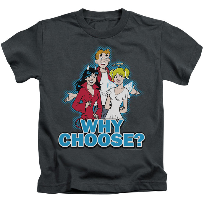 Archie Comics - Why Choose Short Sleeve Juvenile 18/1 Tee - Special Holiday Gift