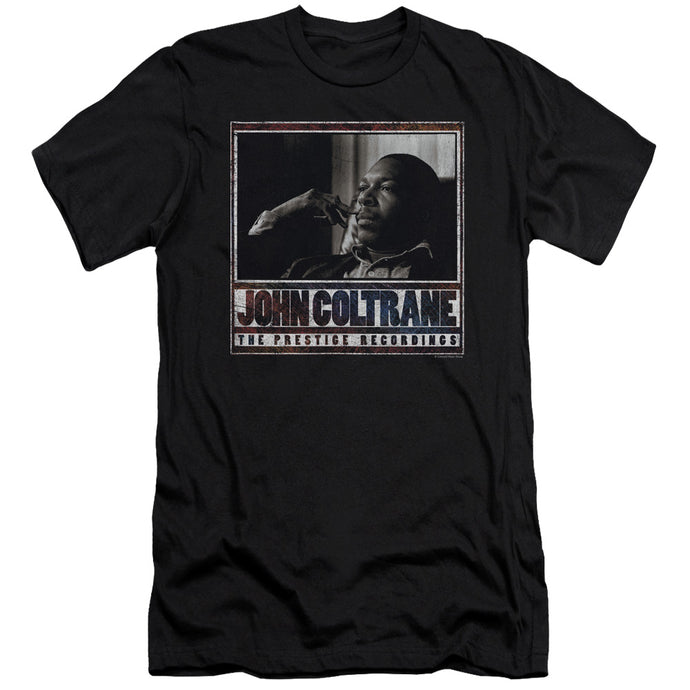 John Coltrane - Prestige Recordings Short Sleeve Adult 30/1 Tee - Special Holiday Gift